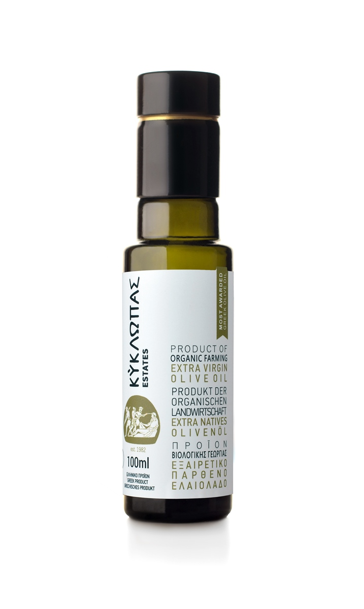 Organic Extra Virgin Olive Oil 100ml