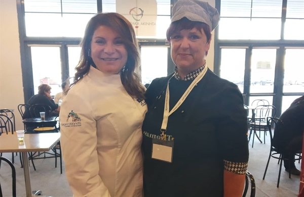 Alexandroupolis resident Vasiliki Yiagli took third place in the Greek National Cooking school competition!
