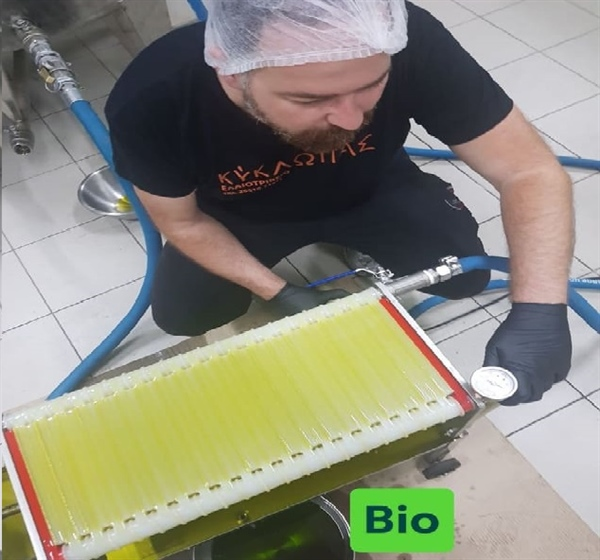 Kyklopas Bio Olive Oil production !