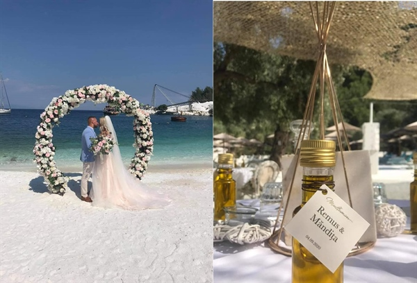 Another amazing collaboration with Greece Wedding. (photos)