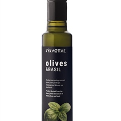 Olives and basil