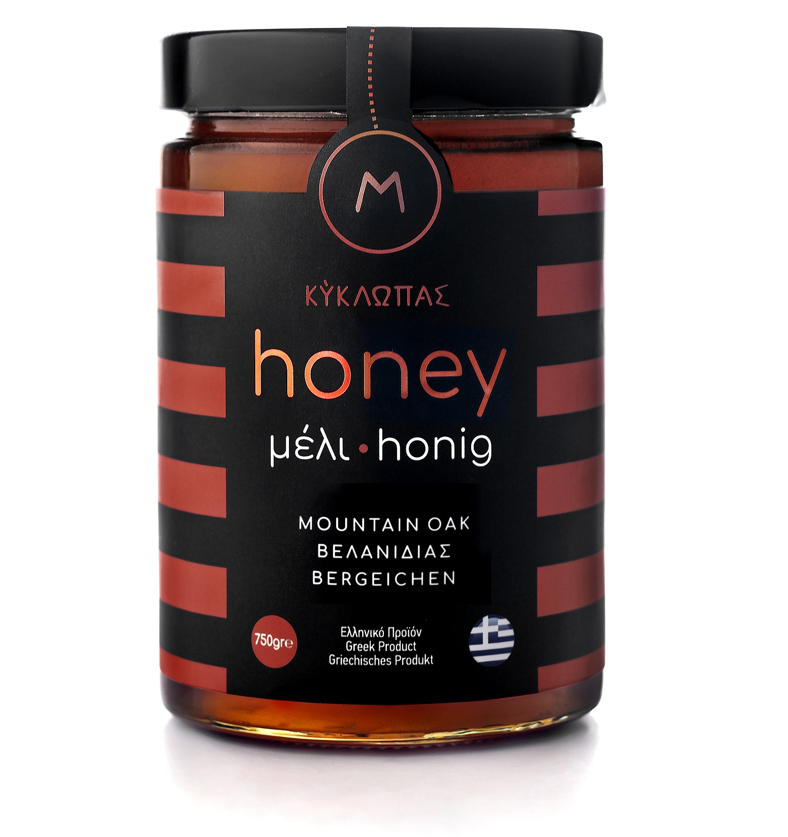 Honey mountain oak 750gr